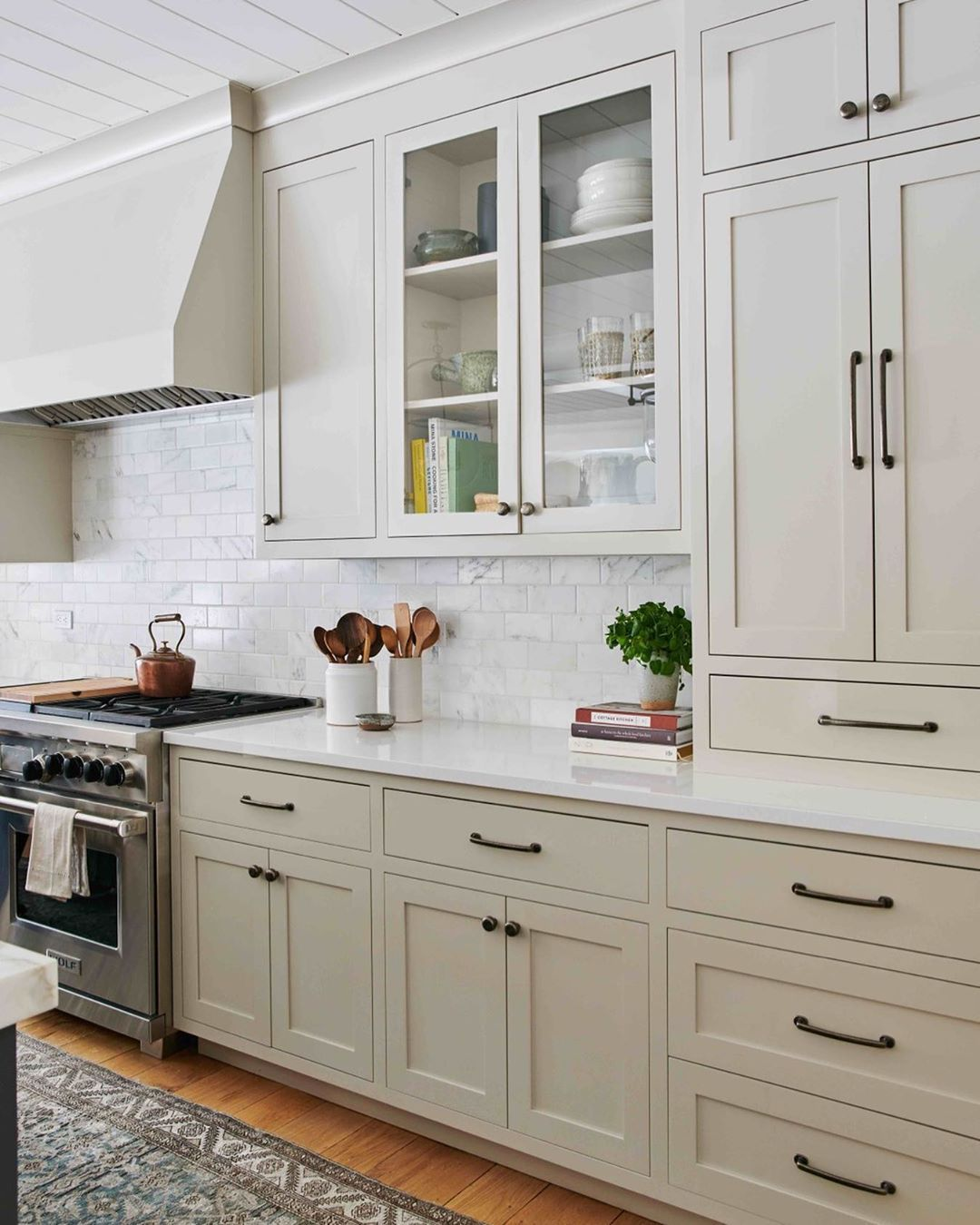 All Sorts Of On Instagram Currently Crushing Greige Kitchen Cabinets It S One Of Our F In 2020 Kitchen Cabinet Design Greige Kitchen Cabinets Kitchen Cabinet Colors