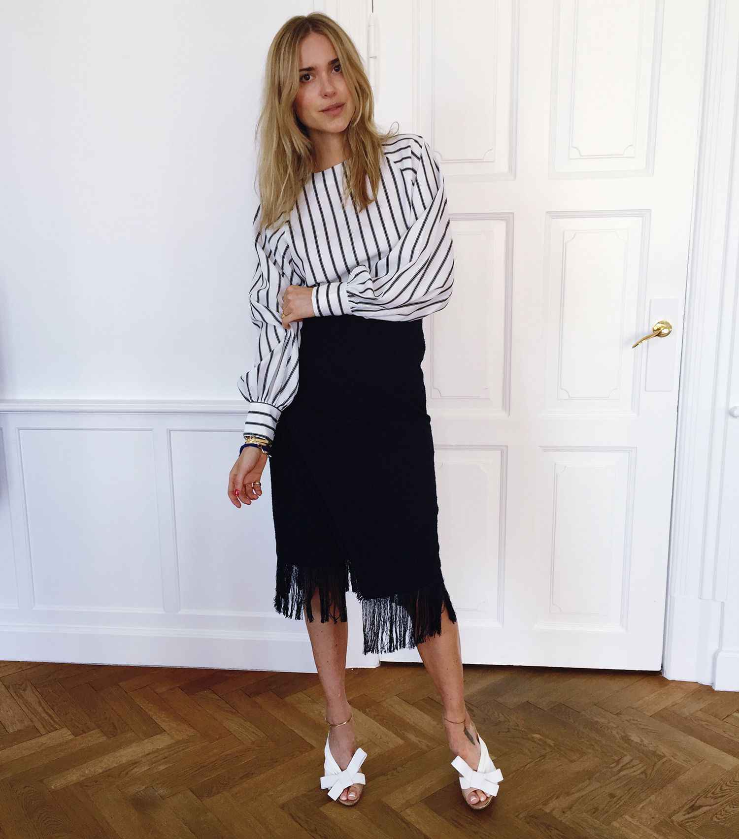 French Stripes And Fringes For Summer!