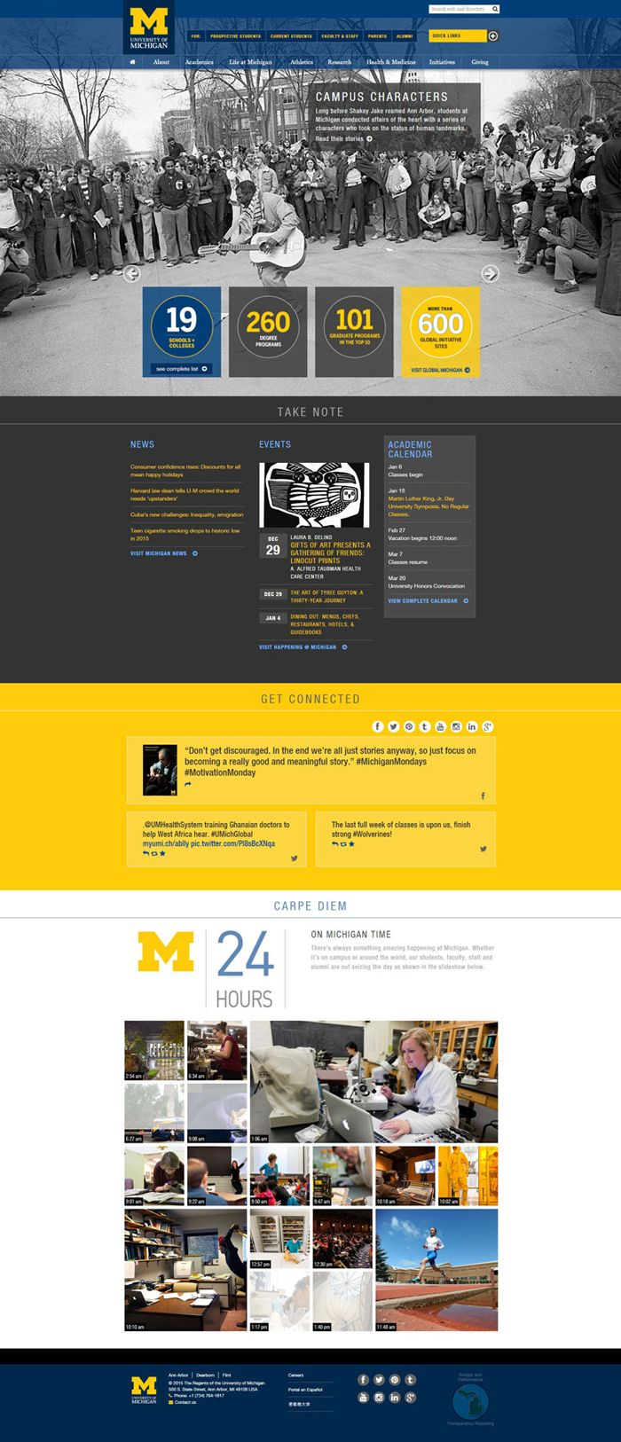 30 University And College Websites Inspiration