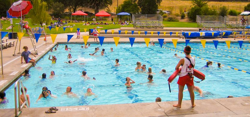 Clarke Memorial Swim Center Walnut Creek At Heather Farm Park Shallow And Lap Pools Great Outdoor Park Lake And Path Diving Pool Outdoor Park Learn To Swim
