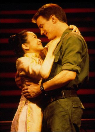 Melinda Chua And Michael Flanigan Miss Saigon Saigon Broadway Playbills