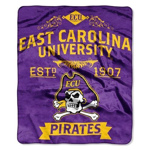 ECU East Carolina University Plush Fleece Blanket Throw 50 x 60