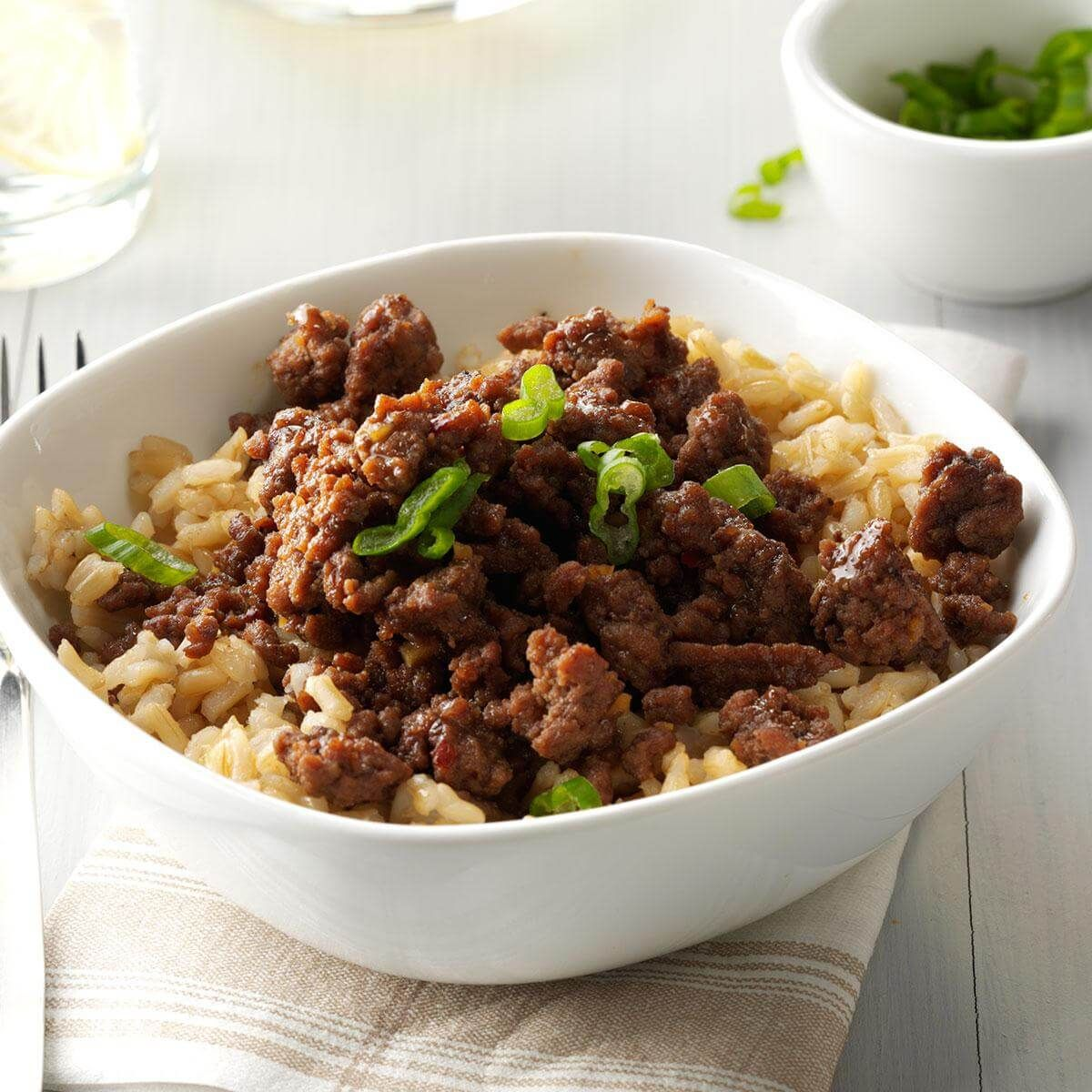 80 Super Easy Ground Beef Dinners Bulgogi Beef Beef And Rice Beef Dinner