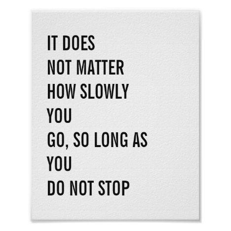Motivational Quotes Famous Confucius Quotes 8x10 Poster | Zazzle.com