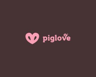 New Show I Watched Pig Logo Logo Design Love Logo Design