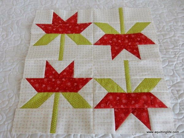 Red and Green Quilt Blocks | A Quilting Life - a quilt blog ... : red and green quilts - Adamdwight.com
