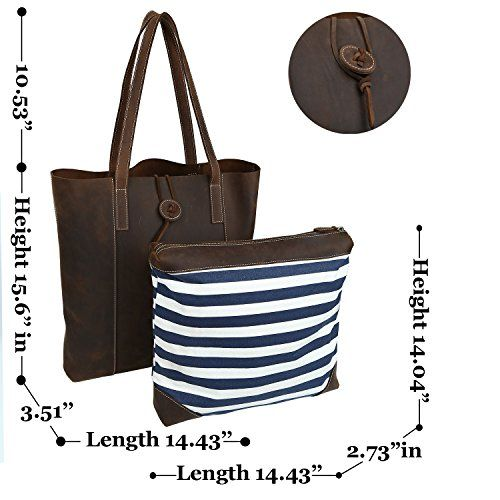 Iswee Leather Shoulder Bags Tote Top Handles Purses Handbag Sets for Women 6a224795ad50e