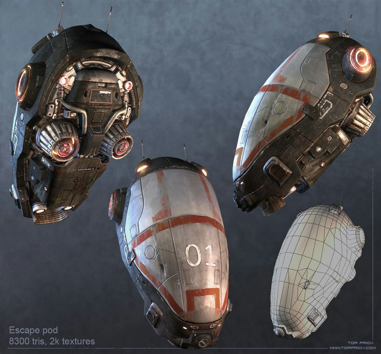 Escape Pod | Spaceship and vehicle concepts and Mech ideas ...
