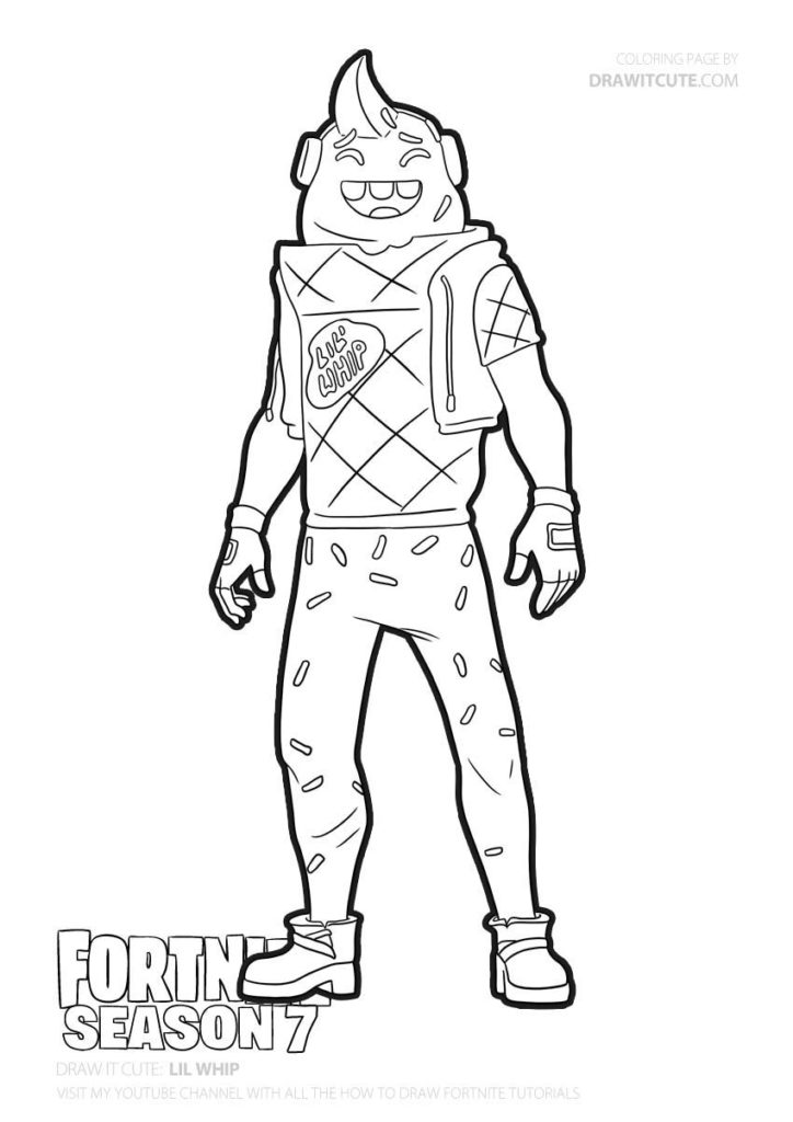 Lil Whip Fortnite Coloring Page Color For Fun Fortniteplayground Fortnitely Fanart Fortnitewo Free Coloring Pictures Fnaf Coloring Pages Coloring Pages