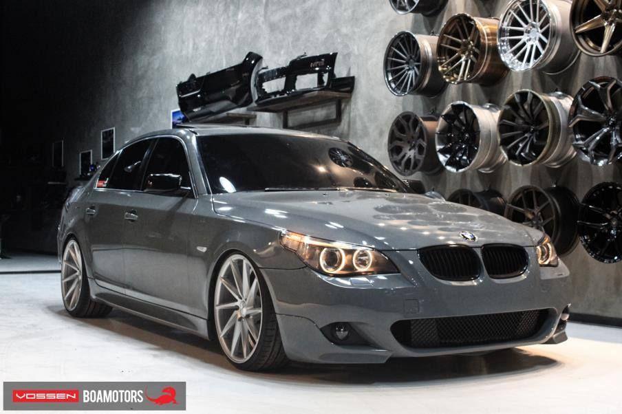 BMW 5 Series on Vossen CVT Voiture, Vehicule
