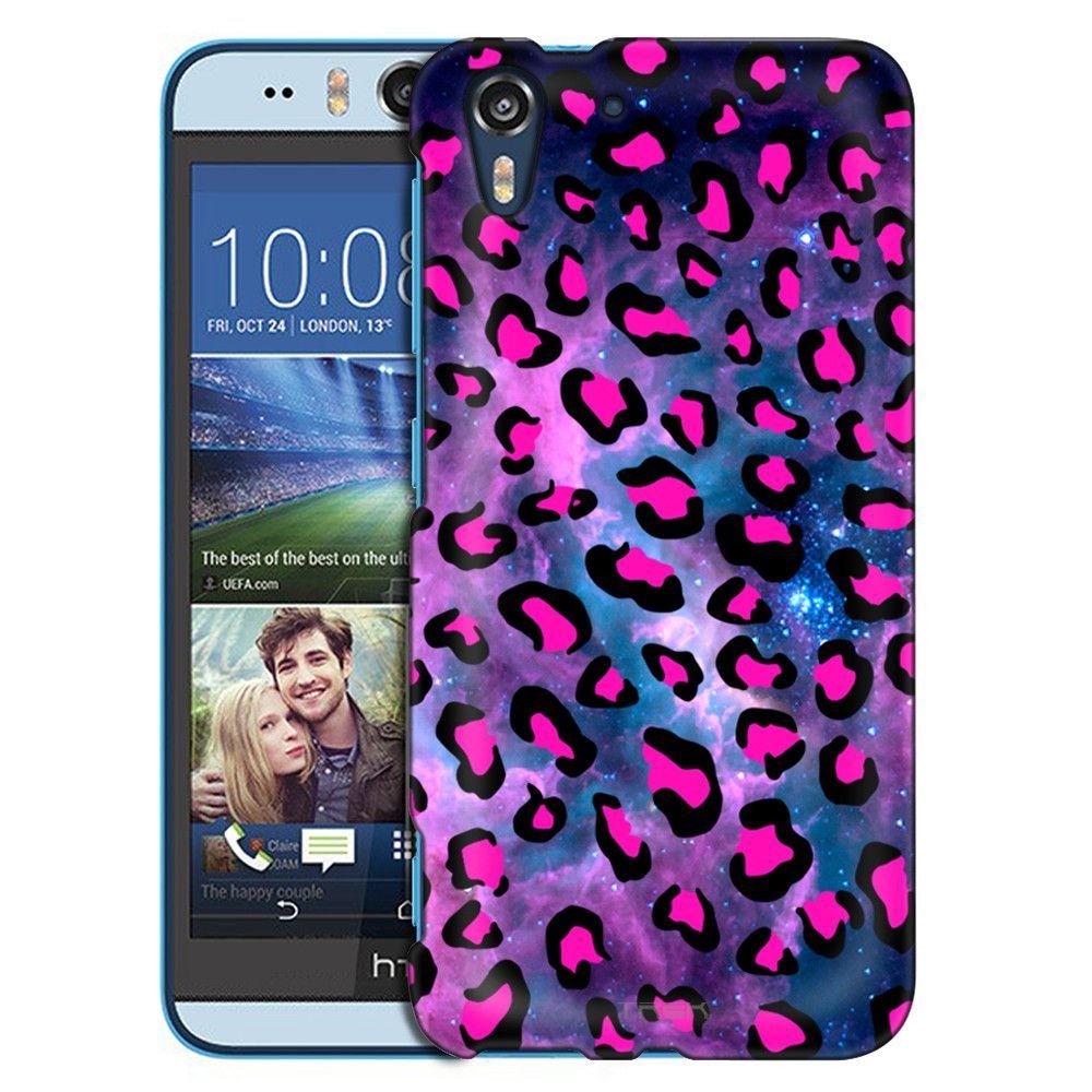 HTC Desire EYE Pink Leopard on Nebula Slim Case