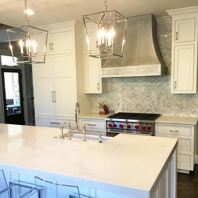 Lantern Pendant Lights For Kitchen Alluring So Pleased With The Outcome Of This #customkitchen I Love A White Review