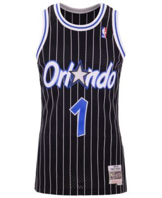 7ad818c7 Mitchell & Ness Men's Tracy McGrady Orlando Magic Hardwood Classic Swingman  Jersey - Black XXL