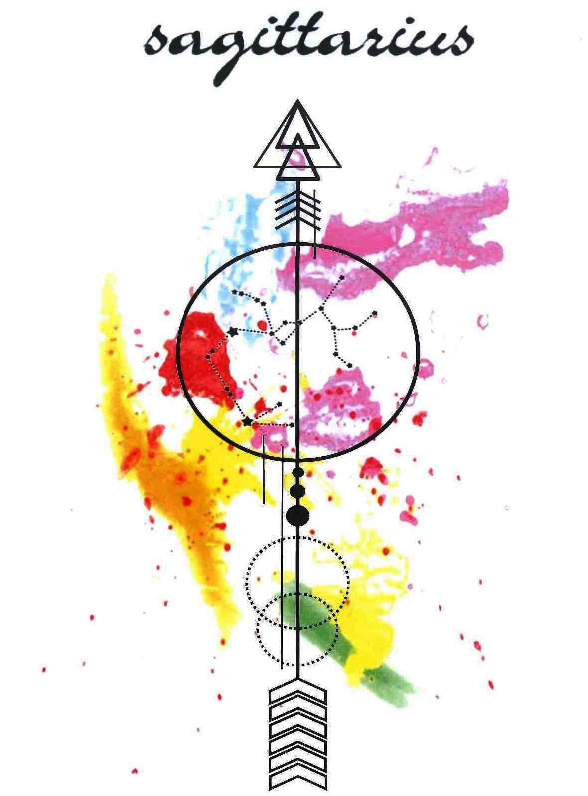 Tattoo Sagittarius Random Stuff Pinte