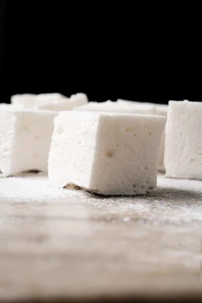 3-Ingredient Sugar Free, Paleo & Keto Marshmallows - gnom-gnom