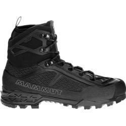 Photo of Mammut Herren Bergstiefel Taiss Light Mid Gtx®, Größe 44 in black-black, Größe 44 in black-black Mam