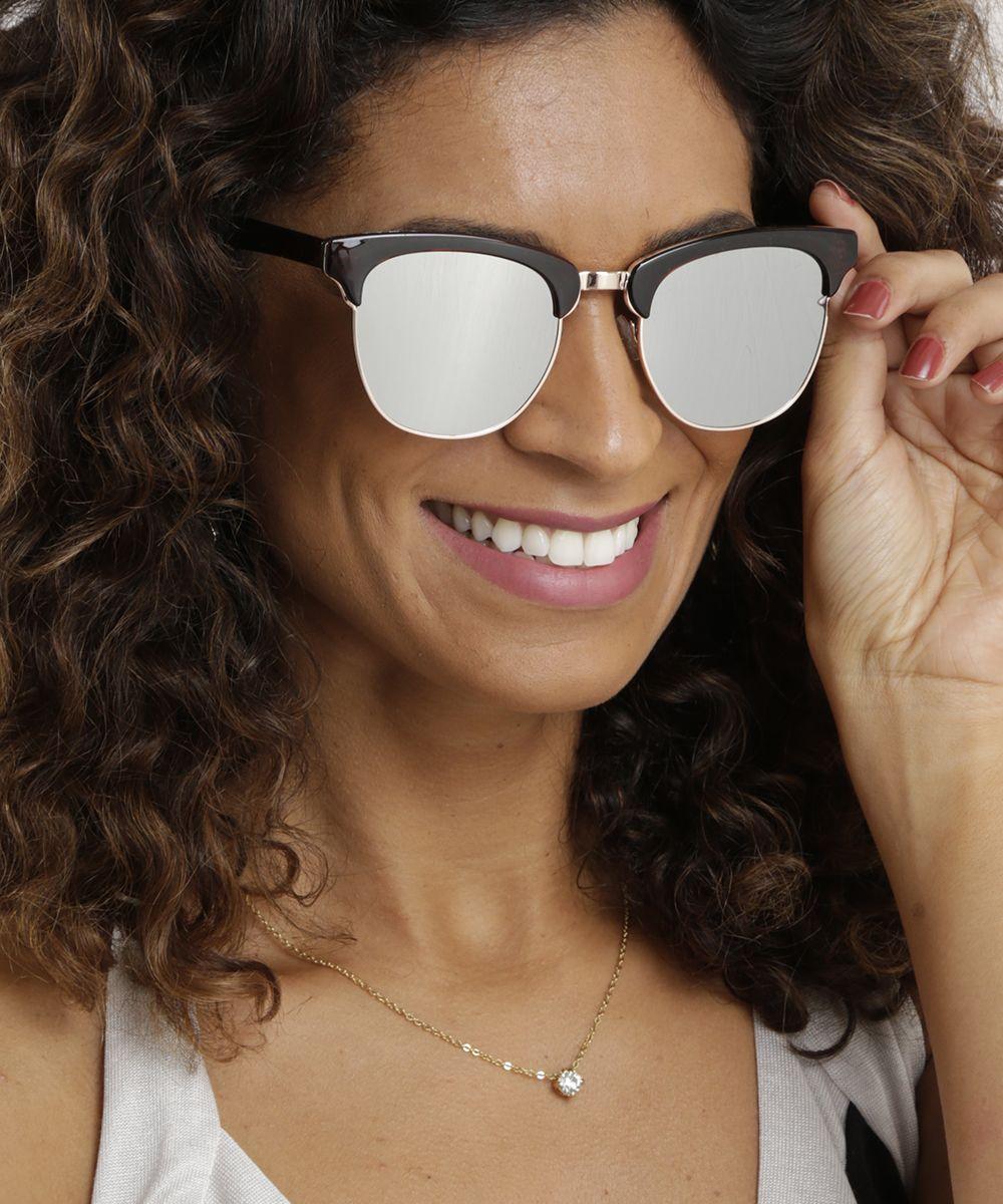 23cb08b5d7bbc Óculos Espelhado   C A   Campanha Primavera-Verão   Peças