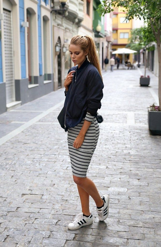 Styling Tips How To Wear Bomber Jacket | Bodycon dress, Bomber ...