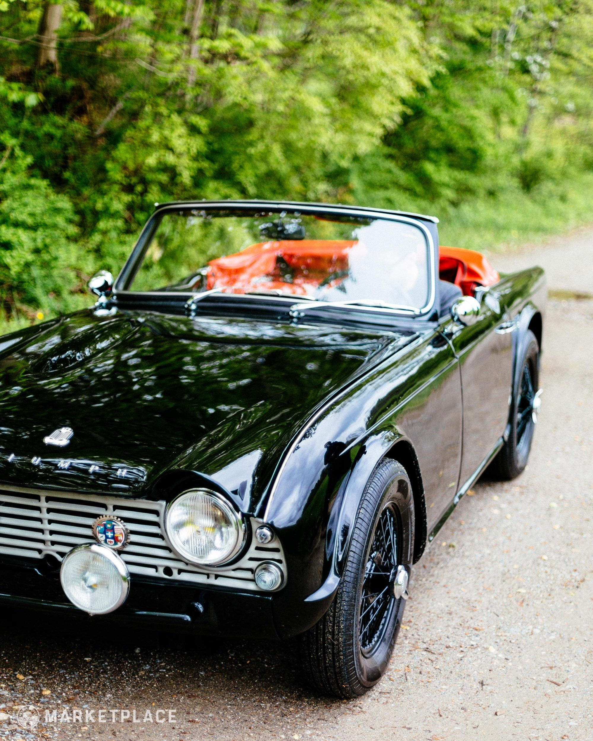 1961 Triumph TR4 w/ Engine Audio Clips