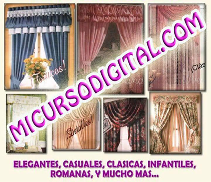 Confeccion de cenefas para cortinas paso a paso book
