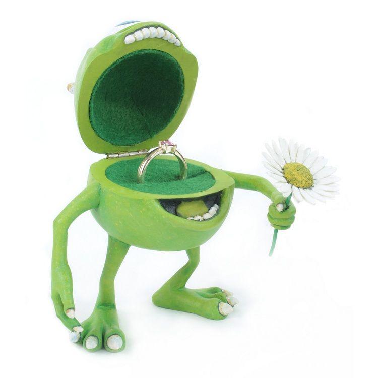 mike wazowski wedding ring box | Wedding Rings | Memes