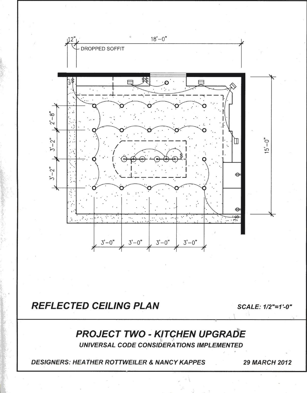 Final Reflected Ceiling Plan | Construction Drawings | Pinterest ...