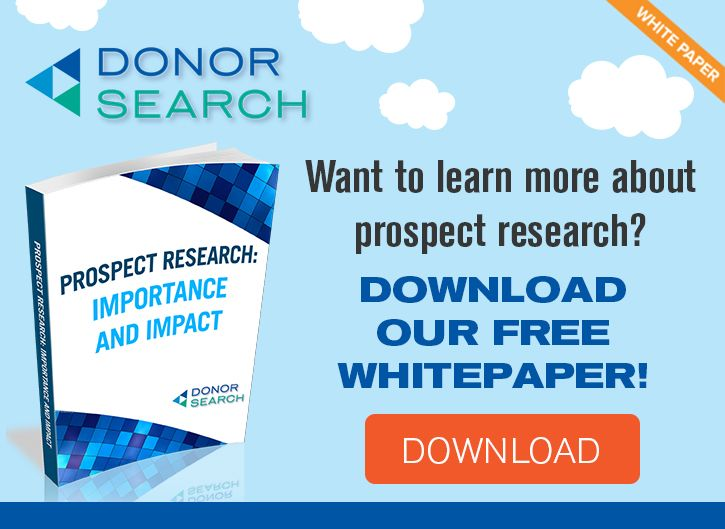 Prospect Research Whitepaper Downloadable Guide Annual Fund