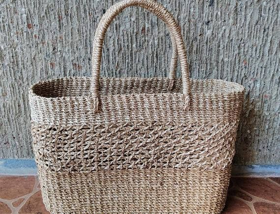 Abaca Picnic Bag Php 590 00 Height 11 Width 15 Livefair