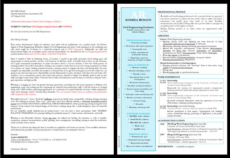 Pin Su Cv Curriculum Vitae Resume