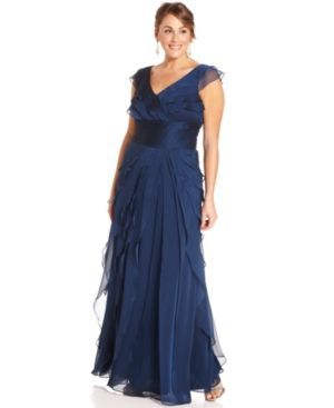 online plus size gown dress