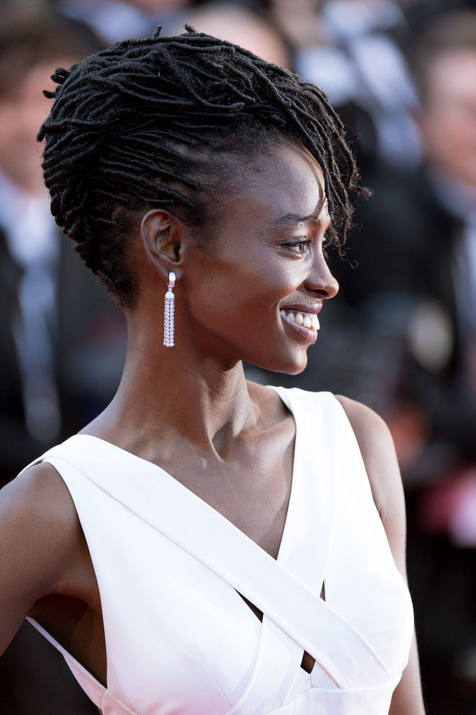 divalocity:      Loc'ed & Lovely: Actress Aïssa Maïga Slays on the red carpet at the 67th Annual Cannes Film Festival.      Photos: Getty Images