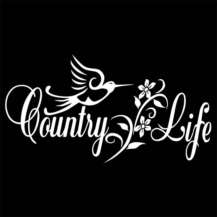 Country Life Decal Country Life Country Vinyl Decals