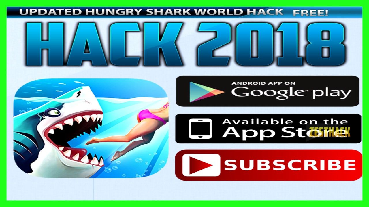 Hungry shark world hack online cheats unlimited gems