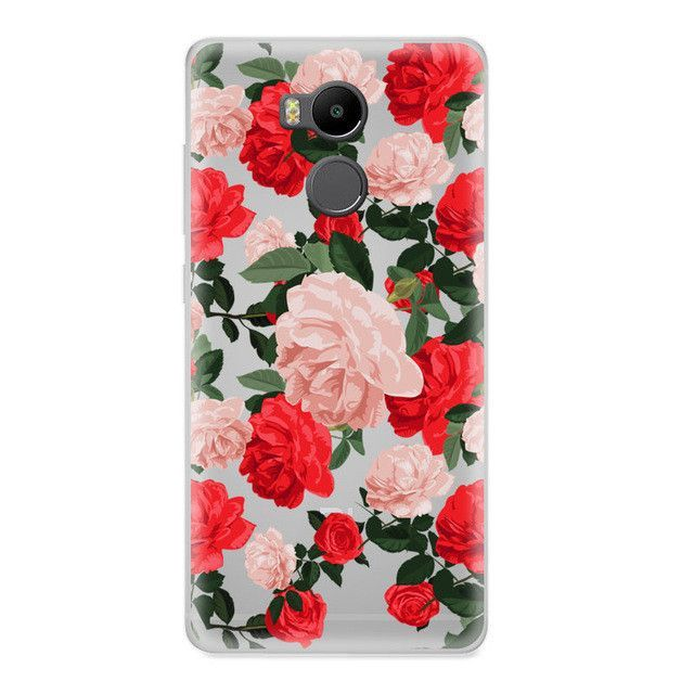 CROWNPRO Redmi 4 Pro Case Silicone Painting Case Back Protector For Xiaomi Redmi 4 Pro Soft TPU Phone Cases Cover 5.0 inch