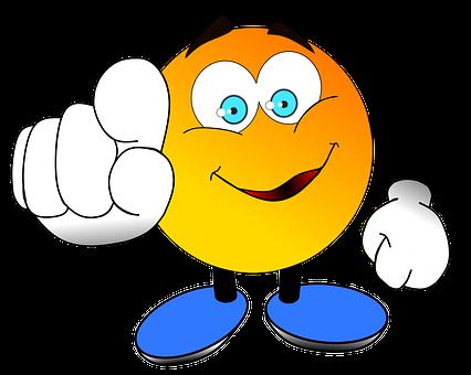 You Finger Pointing Finger Emoji Love Pointing Fingers Smiley