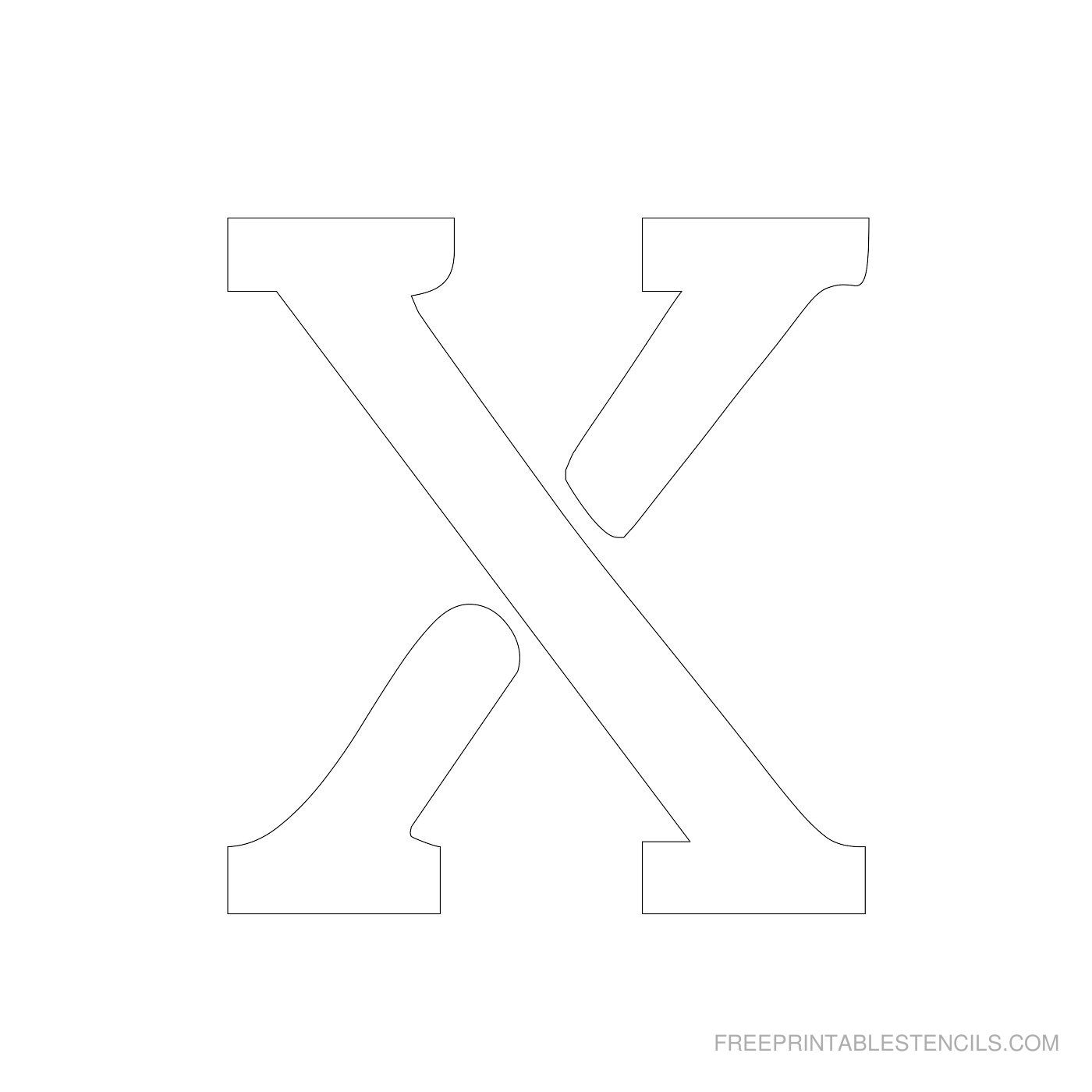 20++ Printable letter stencils 4 inch trends