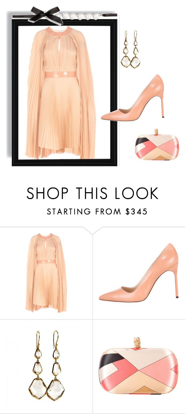 """Outfit # 3583"" by miriam83 ❤ liked on Polyvore featuring Richard Nicoll, Manolo Blahnik, Ippolita and Emilio Pucci"