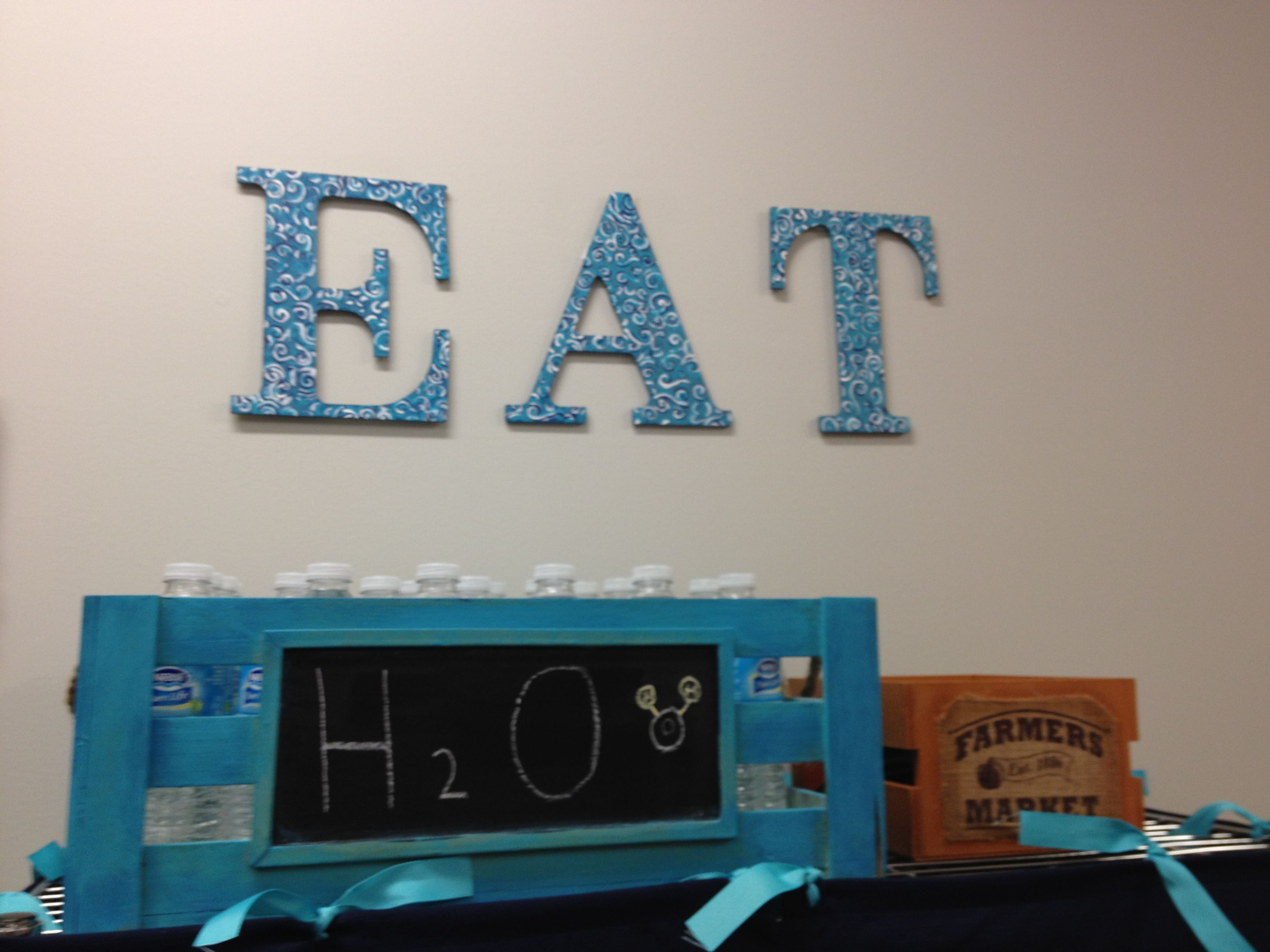 Eat Sign Decor | Decorative Design