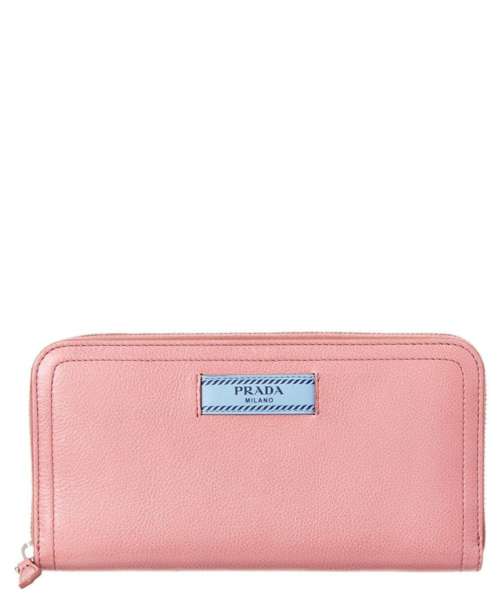 c273b09201b945 PRADA Prada Etiquette Leather Zip Around Wallet. #prada #   Prada ...
