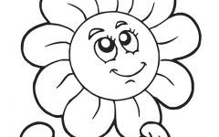Download Cute Flower Coloring Pages