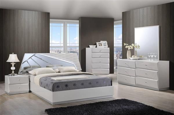 Mdf Bedroom Furniture Set Decoration Simple Barcelona White Mdf Wood Master Bedroom Set  Bedrooms Set . Design Inspiration