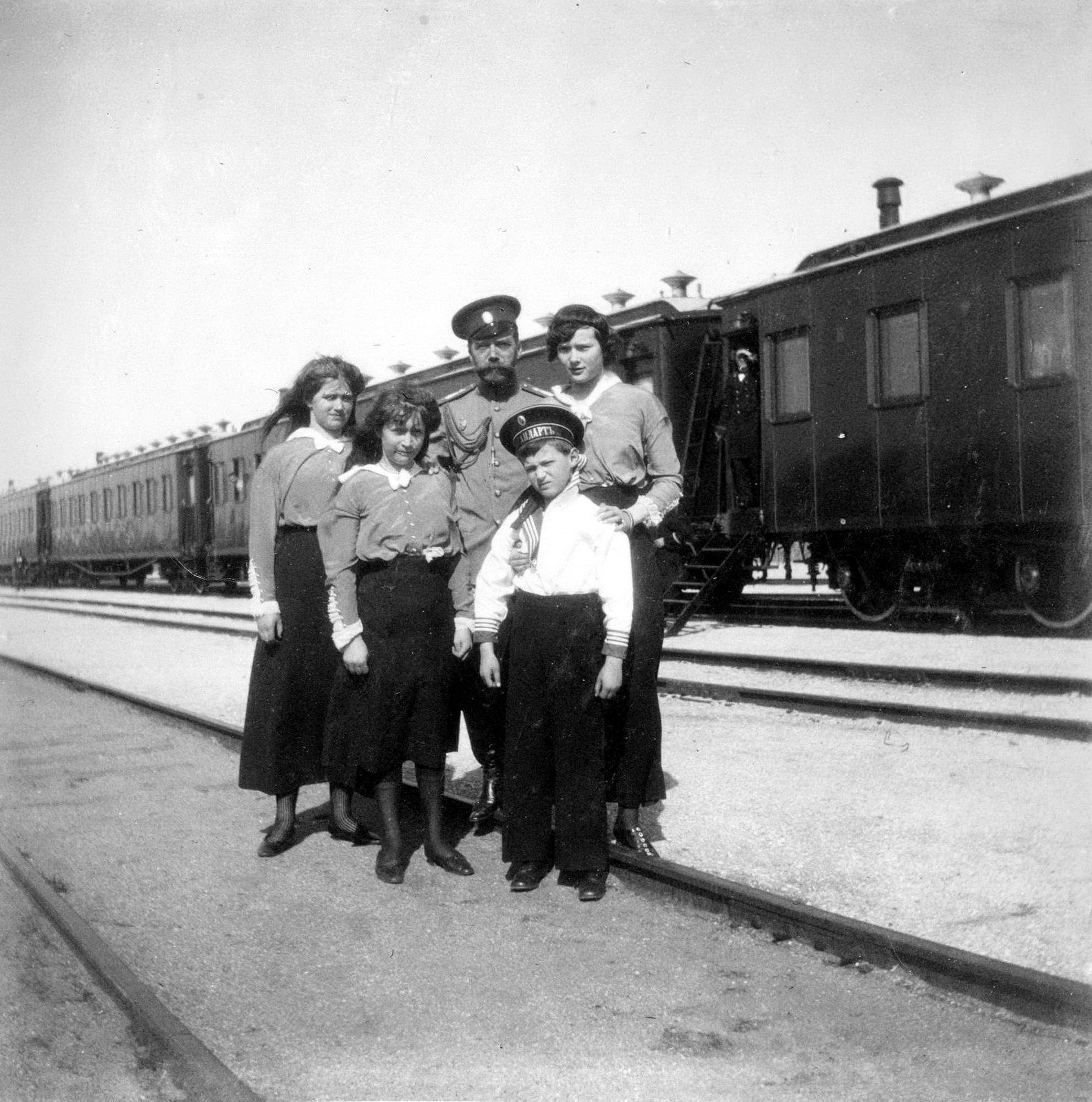 Family, Imperial train