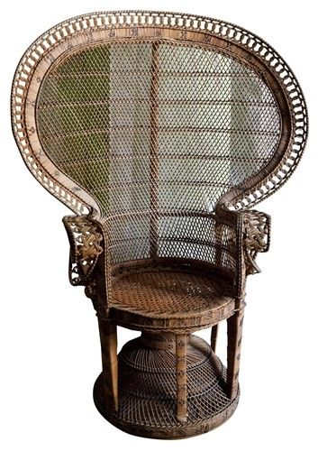 Antique Indian Rattan Armchair Furniture Pinterest Rattan