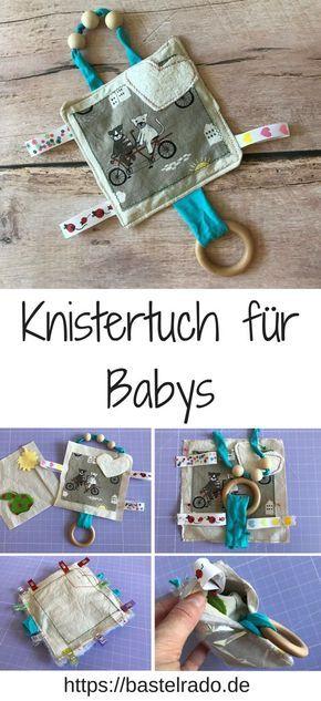 Photo of Fühl- und Knistertuch zaubert dem Baby ein Lachen ins Gesicht » BASTELRADO