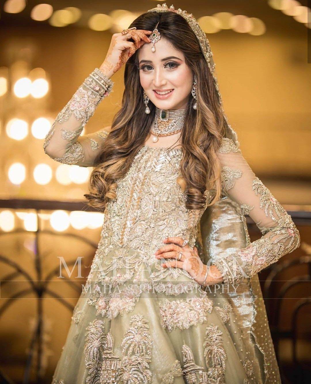 bridal #pakistani #beautiful #wedding #reception #shoot