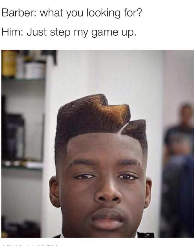 24 Bad Hairstyles Your Barber Nailed On First Try Pinterest