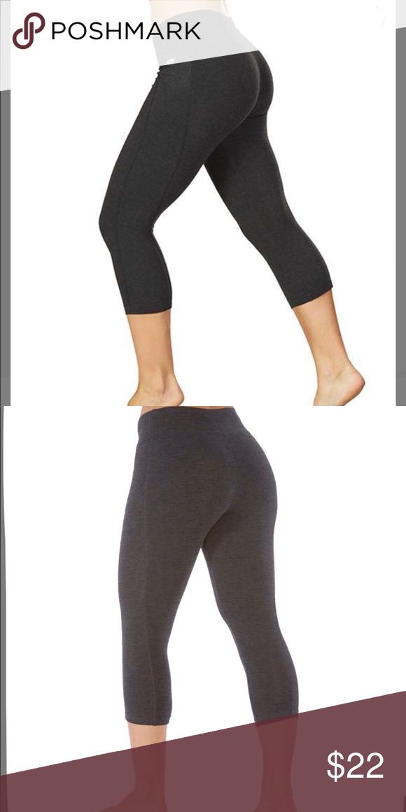 4bfae3a07531 Capri slimming pant💎 Marika heather grey slimming capris 18 in size med Marika  Pants Track Pants   Joggers