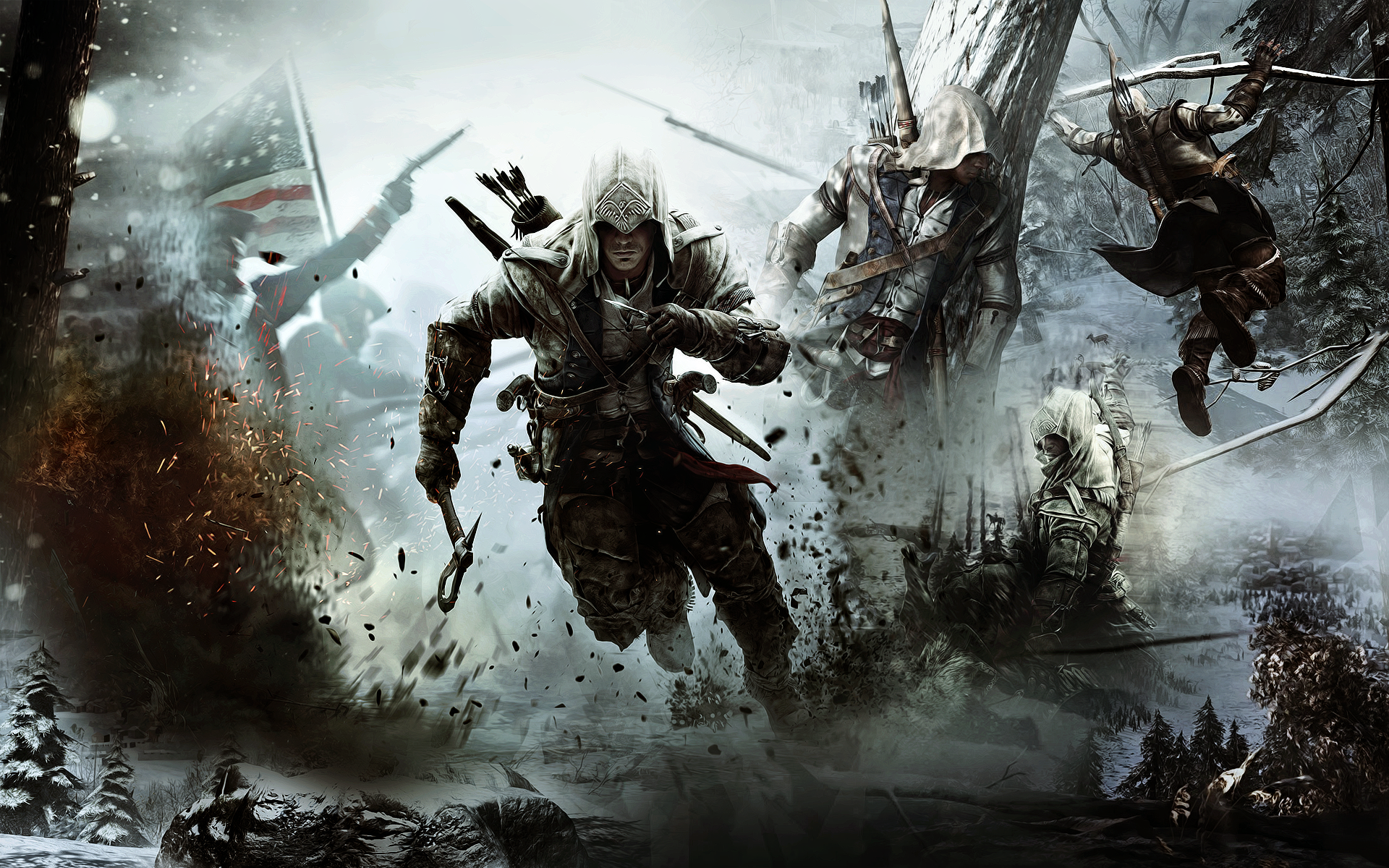 Assassins Creed Iii High Resolution Wallpapers For Desktop Png