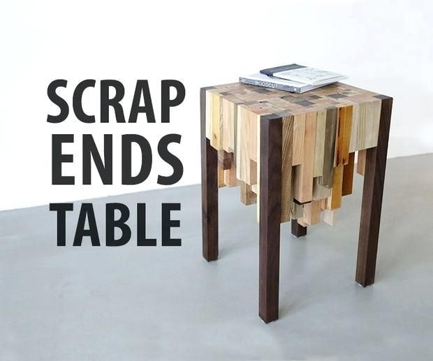 Scrap Ends Table Woodworking Projects To Sell At Flea Markets Easy Wood