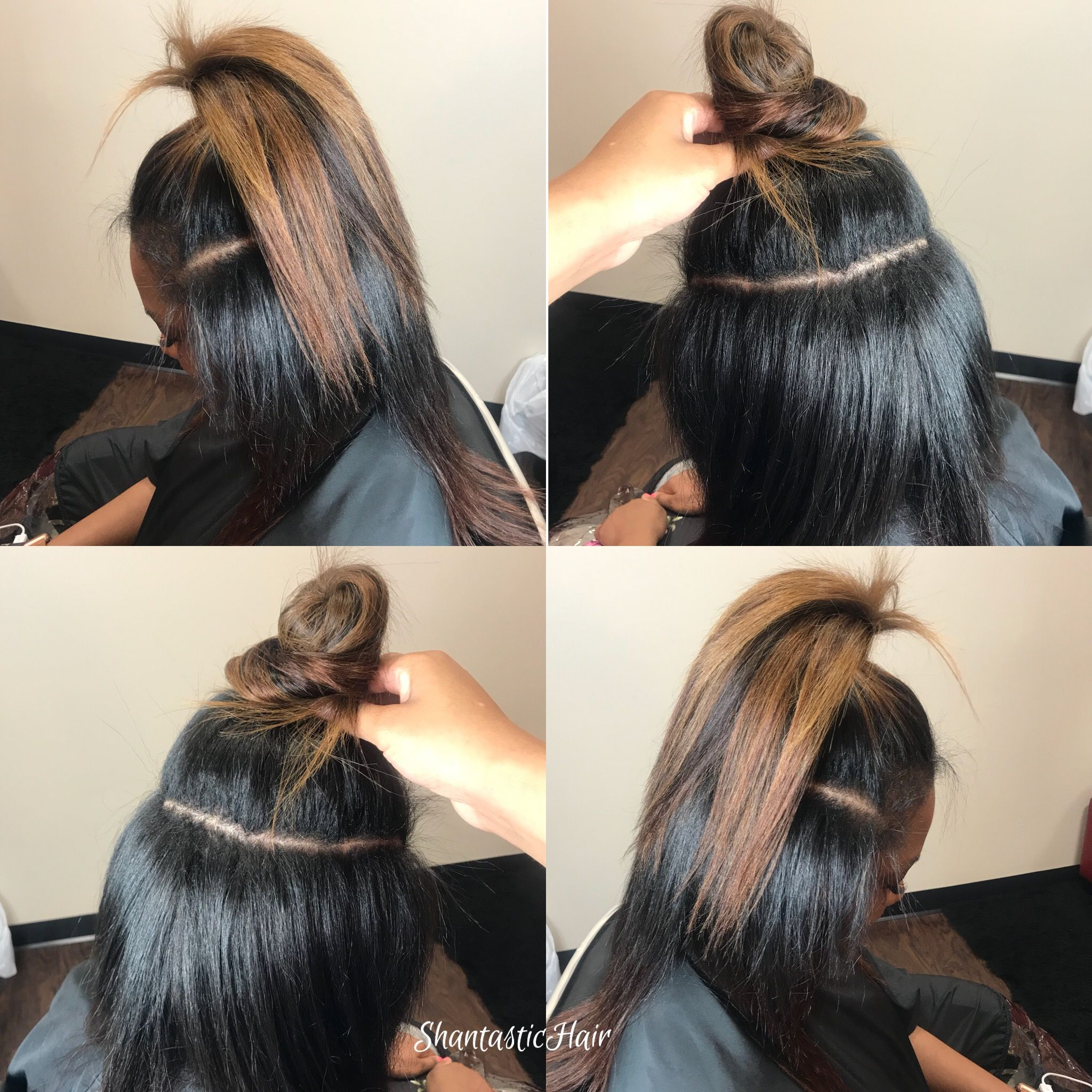 No Braid Sew In With Versatile Hair Styling Options Can Be Worn